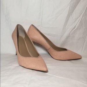 Pink Banana Republic Heels